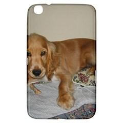 Red Cocker Spaniel Puppy Samsung Galaxy Tab 3 (8 ) T3100 Hardshell Case
