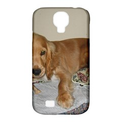 Red Cocker Spaniel Puppy Samsung Galaxy S4 Classic Hardshell Case (PC+Silicone)