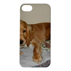 Red Cocker Spaniel Puppy Apple iPhone 5S/ SE Hardshell Case