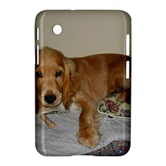 Red Cocker Spaniel Puppy Samsung Galaxy Tab 2 (7 ) P3100 Hardshell Case