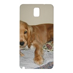 Red Cocker Spaniel Puppy Samsung Galaxy Note 3 N9005 Hardshell Back Case