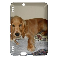 Red Cocker Spaniel Puppy Kindle Fire HDX Hardshell Case
