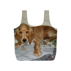 Red Cocker Spaniel Puppy Full Print Recycle Bags (S)
