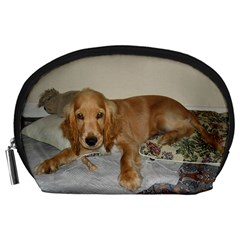 Red Cocker Spaniel Puppy Accessory Pouches (Large)