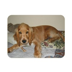 Red Cocker Spaniel Puppy Double Sided Flano Blanket (Mini)