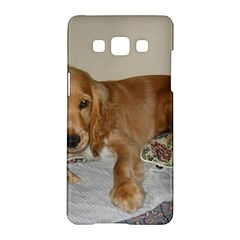 Red Cocker Spaniel Puppy Samsung Galaxy A5 Hardshell Case