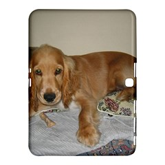 Red Cocker Spaniel Puppy Samsung Galaxy Tab 4 (10.1 ) Hardshell Case