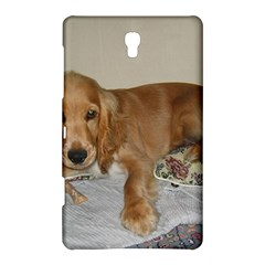 Red Cocker Spaniel Puppy Samsung Galaxy Tab S (8.4 ) Hardshell Case