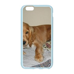 Red Cocker Spaniel Puppy Apple Seamless iPhone 6/6S Case (Color)