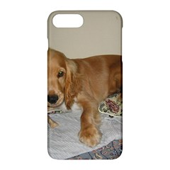 Red Cocker Spaniel Puppy Apple iPhone 7 Plus Hardshell Case