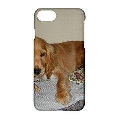Red Cocker Spaniel Puppy Apple iPhone 7 Hardshell Case