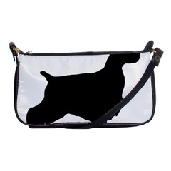 English Cocker Spaniel Silo Black Shoulder Clutch Bags