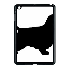 English Cocker Spaniel Silo Black Apple iPad Mini Case (Black)
