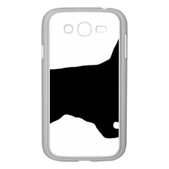 English Cocker Spaniel Silo Black Samsung Galaxy Grand DUOS I9082 Case (White)