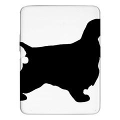 English Cocker Spaniel Silo Black Samsung Galaxy Tab 3 (10.1 ) P5200 Hardshell Case