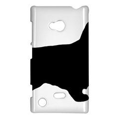 English Cocker Spaniel Silo Black Nokia Lumia 720