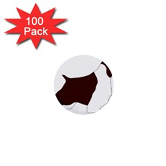English Springer Spaniel Silo Color 1  Mini Buttons (100 pack)