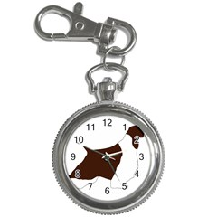 English Springer Spaniel Silo Color Key Chain Watches