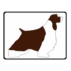 English Springer Spaniel Silo Color Fleece Blanket (Small)