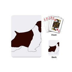 English Springer Spaniel Silo Color Playing Cards (Mini)