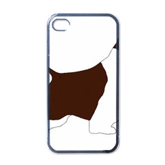 English Springer Spaniel Silo Color Apple iPhone 4 Case (Black)
