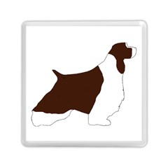 English Springer Spaniel Silo Color Memory Card Reader (Square)