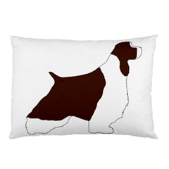 English Springer Spaniel Silo Color Pillow Case (Two Sides)