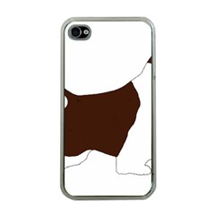 English Springer Spaniel Silo Color Apple iPhone 4 Case (Clear)