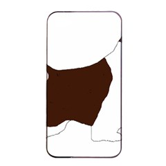 English Springer Spaniel Silo Color Apple iPhone 4/4s Seamless Case (Black)