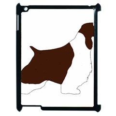 English Springer Spaniel Silo Color Apple iPad 2 Case (Black)