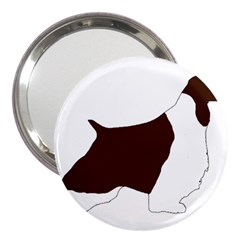English Springer Spaniel Silo Color 3  Handbag Mirrors