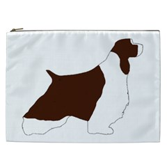 English Springer Spaniel Silo Color Cosmetic Bag (XXL)