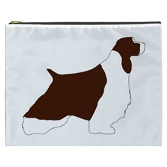 English Springer Spaniel Silo Color Cosmetic Bag (XXXL)