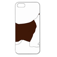 English Springer Spaniel Silo Color Apple Seamless iPhone 5 Case (Clear)