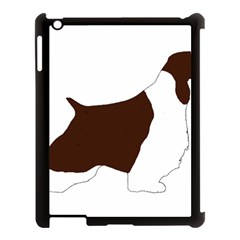 English Springer Spaniel Silo Color Apple iPad 3/4 Case (Black)