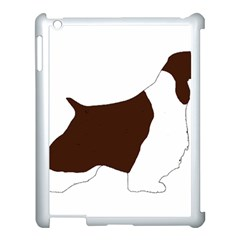 English Springer Spaniel Silo Color Apple iPad 3/4 Case (White)