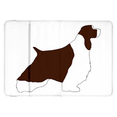 English Springer Spaniel Silo Color Samsung Galaxy Tab 8.9  P7300 Flip Case