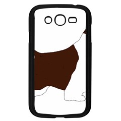 English Springer Spaniel Silo Color Samsung Galaxy Grand DUOS I9082 Case (Black)