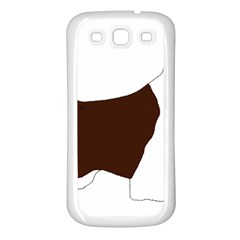 English Springer Spaniel Silo Color Samsung Galaxy S3 Back Case (White)