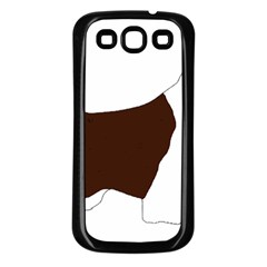 English Springer Spaniel Silo Color Samsung Galaxy S3 Back Case (Black)