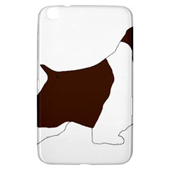 English Springer Spaniel Silo Color Samsung Galaxy Tab 3 (8 ) T3100 Hardshell Case