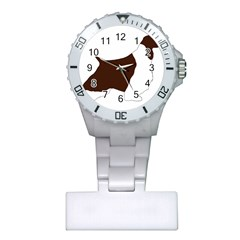 English Springer Spaniel Silo Color Plastic Nurses Watch