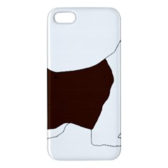 English Springer Spaniel Silo Color iPhone 5S/ SE Premium Hardshell Case