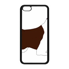 English Springer Spaniel Silo Color Apple iPhone 5C Seamless Case (Black)