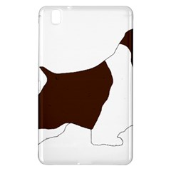 English Springer Spaniel Silo Color Samsung Galaxy Tab Pro 8.4 Hardshell Case