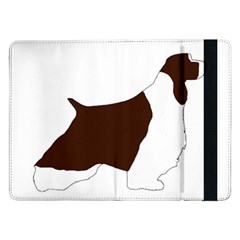 English Springer Spaniel Silo Color Samsung Galaxy Tab Pro 12.2  Flip Case