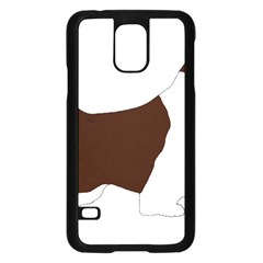 English Springer Spaniel Silo Color Samsung Galaxy S5 Case (Black)