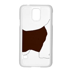 English Springer Spaniel Silo Color Samsung Galaxy S5 Case (White)