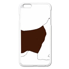 English Springer Spaniel Silo Color Apple iPhone 6 Plus/6S Plus Enamel White Case
