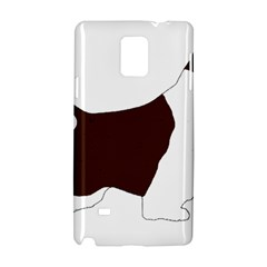 English Springer Spaniel Silo Color Samsung Galaxy Note 4 Hardshell Case